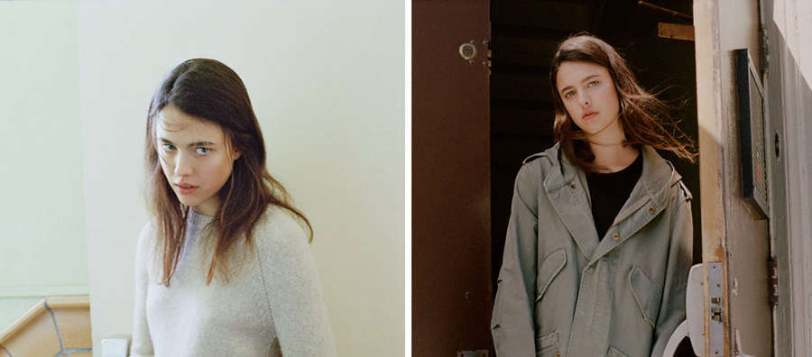 Actresses on the Rise, in Minimalist Knits